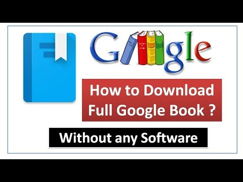 How To Download Google Books Without Any Software
