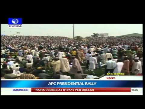 APC Moves Presidential Campaign Train To Kano pt 1