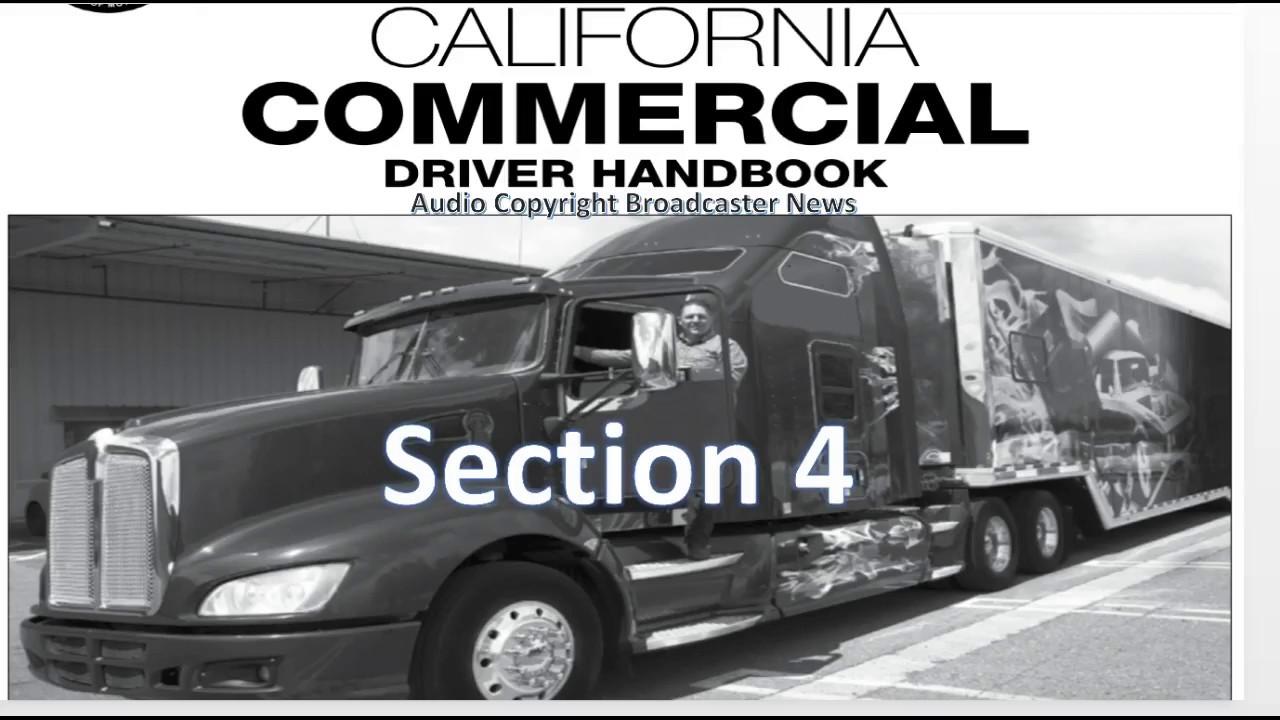 dmv cdl hand book audio calif 2018 section 4 youtube rh youtube com NYS DMV Manual Online Driving Manual