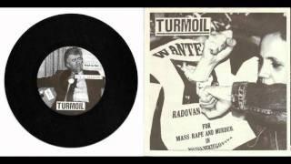 """TURMOIL - split 7"""" w/ ACOUSTIC GRINDER"""