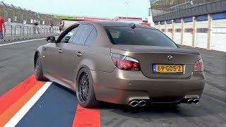 BMW M5 V10 w/ Custom X-Pipe + HMS Exhaust System! LOUD REVS!