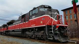 Providence & Worcester Railroad Tribute Video 2017: Circus Trains & More!