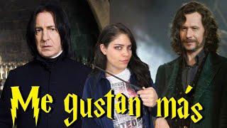 Personajes de Harry Potter que me gustan más en las películas que en los libros