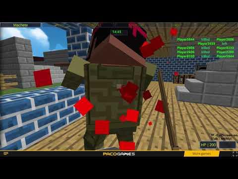 Игра Пиксельное оружие  Апокалипсис 3 онлайн Pixel Gun Apocalypse 3    играть бесплатно на Game Game