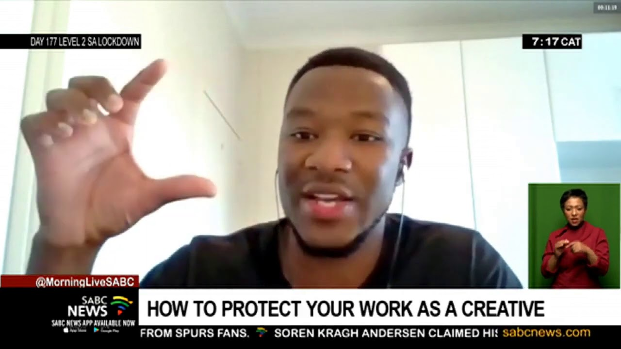 Download How to protect your work as a creative: Law expert Senamiso Moyo