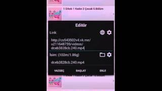 Android Telefondan Dizi-Film İndirme #1