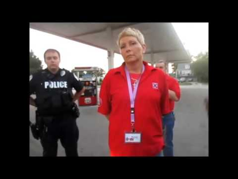 SUSAN STONE ( CIRCLE K  - COPS CALLED DISCRIMINATION HATE )