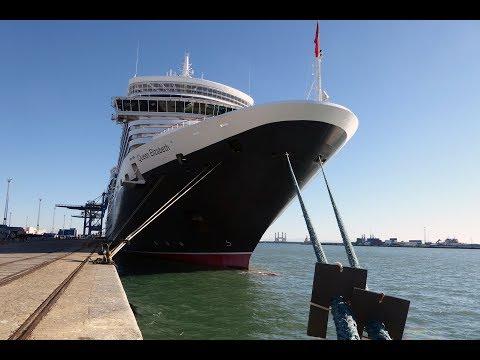 Cunard's Queen Elizabeth 2017 A Brief Tour and Room 1080
