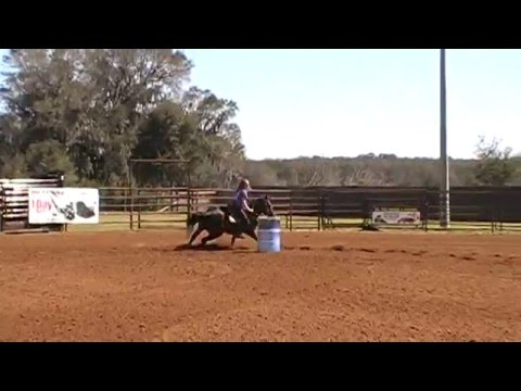 Bugsy And Jennifer Afleet Equine Services Barrel Race At