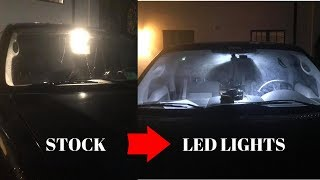 How To Replace Map Lights On A 2004-2006 Ford F150 | LED LIGHTS |