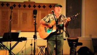 Dave Gallant at Sooke Folk Music Society coffee house