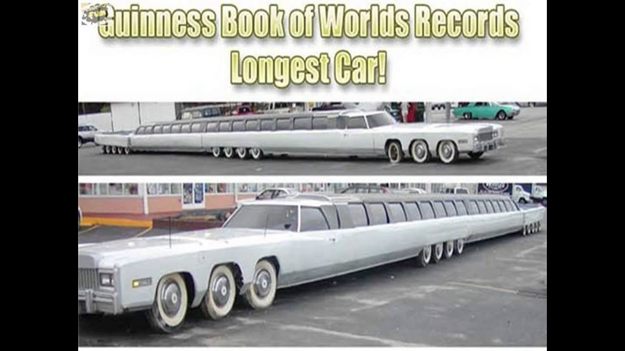 The longest car in the world - YouTube