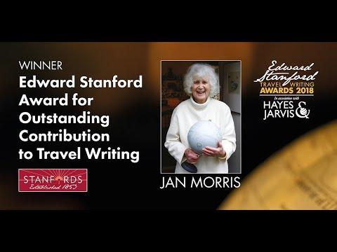 Jan Morris: Edward Stanford Outstanding Contribution to Travel Writing Award 2018