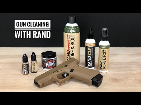 Glock 19X Cleaning With Rand Products!