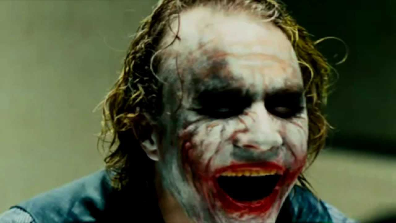 Jack Nicholson's Joker vs Heath Ledger's Joker evil laugh