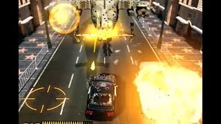 DRIVING FORCE 4 - MISSIONS 3 - HOLLYWOOD BOULEVARD