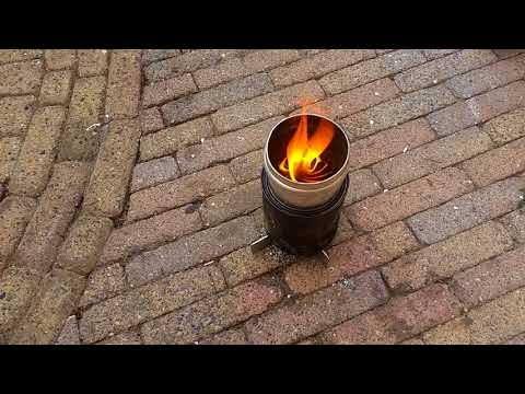 A simple wood gasifier