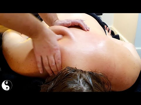 [ASMR] 30 Minute Deep Tissue Back Massage - To Melt Your Pain