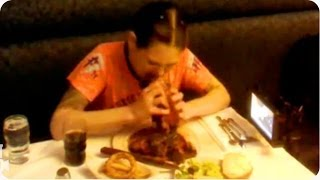 Woman Breaks Steak Eating Record | Ultimate Trophy Wife