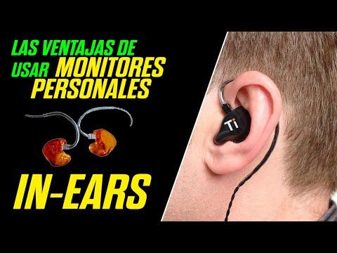 Las ventajas de usar monitores personales in-Ears Advanced Ears