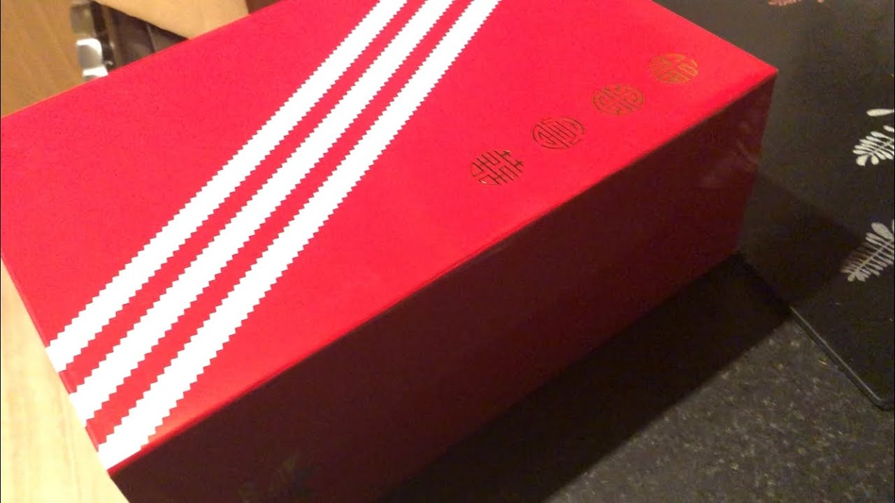 new product d2c85 9b107 Adidas EQT Support ADV Chinese New Year 2018 unboxing
