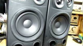 SONY SS-J900AV Speaker System (Bass I Love You)