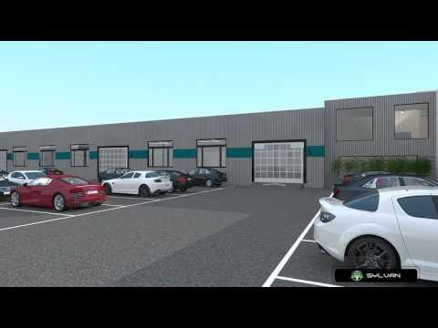 CHEFENGHUI Auto Repair Shop Design Case