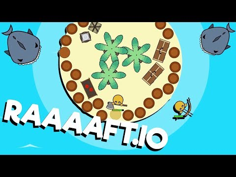The ULTIMATE Island BASE! - Raaaaft.io Game - New io game!