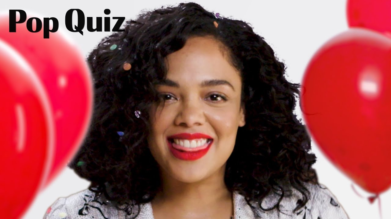 Tessa Thompson | Pop Quiz | Marie Claire