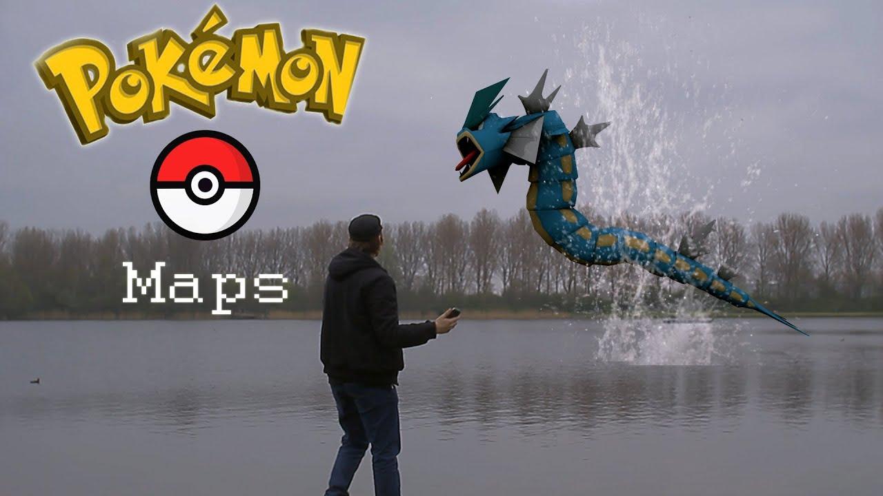 Real Life Video Games Pokémon GO Google Maps YouTube - Pokemon go live map for us