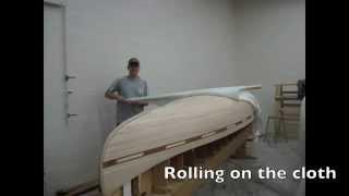 Hand Built Cedar Strip Canoe