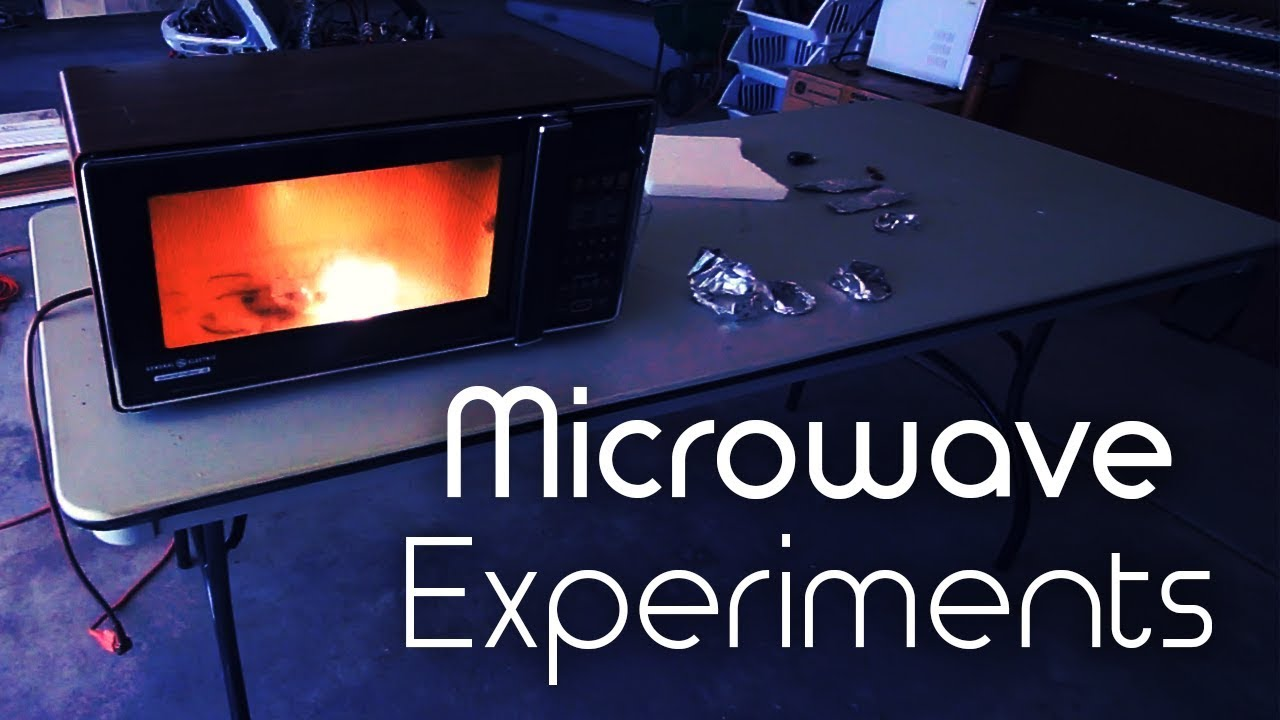 New Video: Microwave Experiments with Various Household
