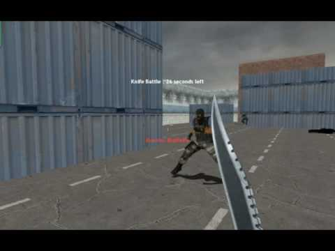 CS:S Knife Fight