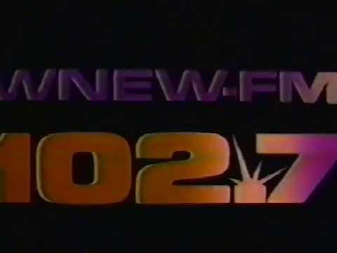 1985 Ads WNEW 102.7 FM New York