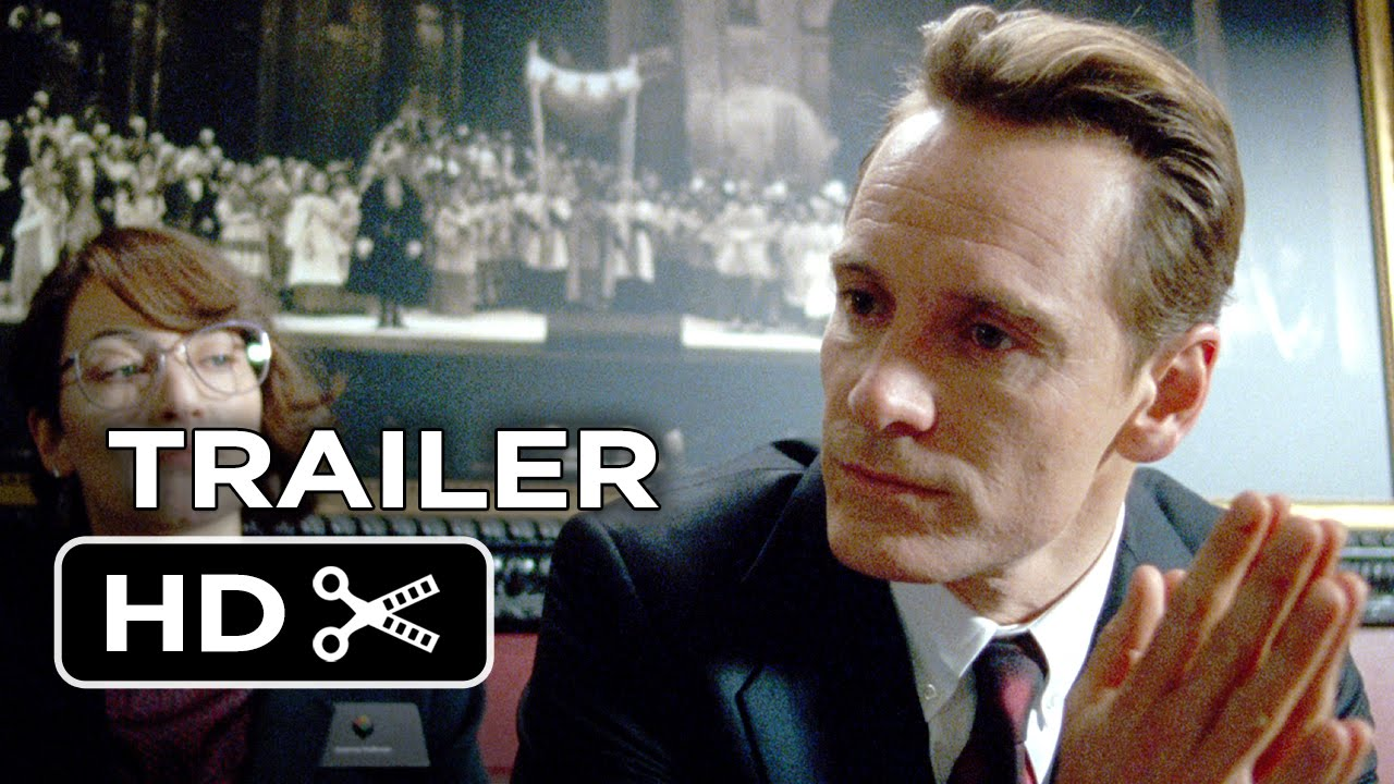 Steve Jobs Official Trailer #1 (2015) - Michael Fassbender, Kate Winslet Movie HD
