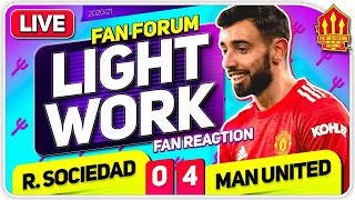 BRUNO AT THE DOUBLE! Real Sociedad 0-4 Man United | LIVE Fan Forum