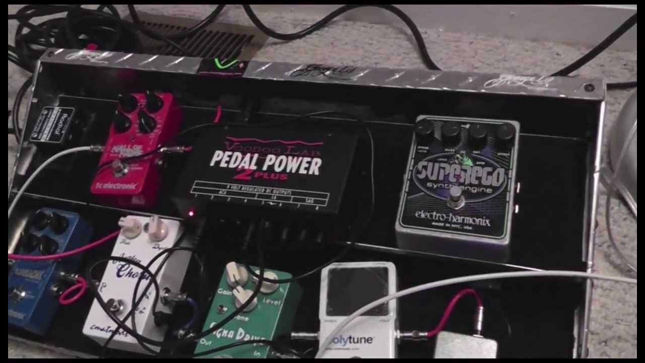 voodoo lab pedal power 2 plus youtube. Black Bedroom Furniture Sets. Home Design Ideas