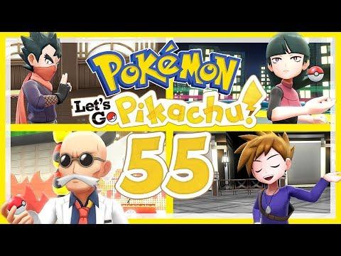 POKÉMON LET'S GO, PIKACHU! # 55 ⚡ Rematches gegen Koga, Sabrina, Pyro und Blau! thumbnail