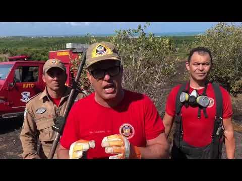 Governo decreta 'emergência' em dois municípios do RN por conta de incêndios
