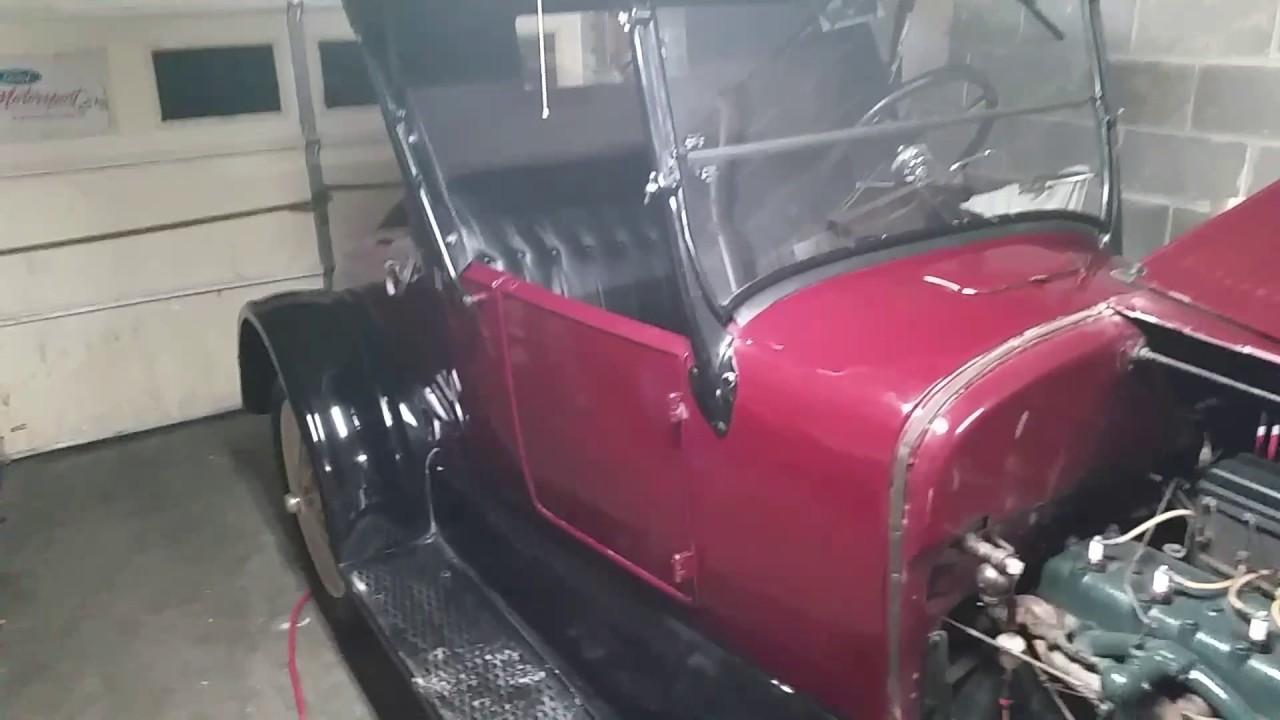 1927 model t hood