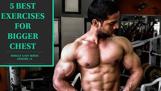 COMPLETE CHEST WORKOUT | 5 BEST EXERCISES FOR BIGGER CHEST|CHEST WORKOUT |Rahul fitness official