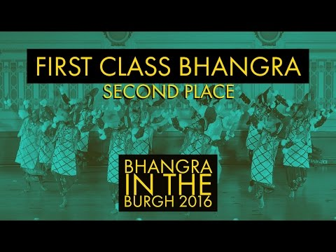 First Class Bhangra – Second Place – Bhangra In The Burgh 2016