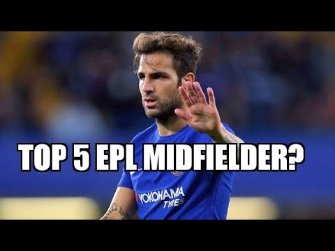 Where does Fabregas rank in Premier League All Time?