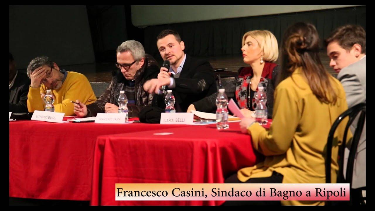 Francesco Casini, Sindaco di Bagno a Ripoli - \