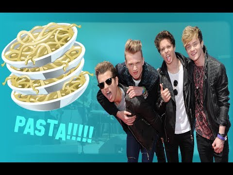 THE PASTA SONG - THE VAMPS