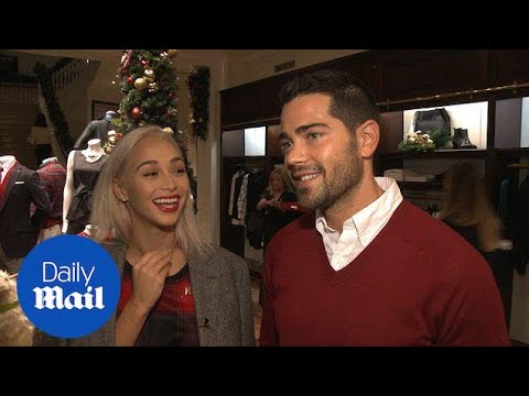 Jesse Metcalfe and Cara Santana loved up at Brooks Brothers  Daily Mail