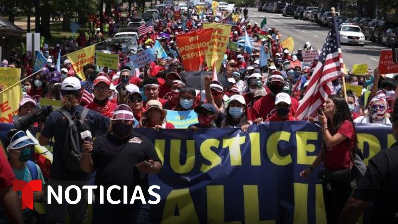 Download Crece el clamor por una reforma migratoria en EE.UU.   Noticias Telemundo