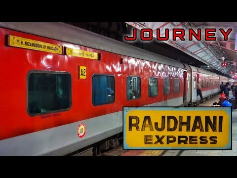 DELHI To PANVEL : A Journey In Madgaon (GOA) Rajdhani Express | Indian Railways