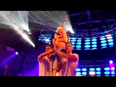 Pixie Lott Performing Mama Do (uh oh, uh oh) Live Manchester Pride 2017