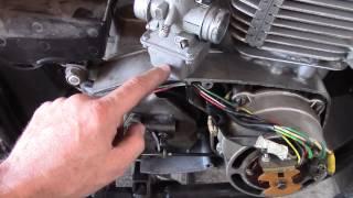 регулировка и ремонт мотоцикла motorcycle JAWA 638 Ява  (электронное зажигание.карбюратор...)(, 2014-09-12T06:39:57.000Z)